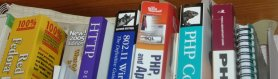 Image of Books on HTTP, Fedora Linux 3 PHP and MySQL,PHP CookBook,802.11 Wireless Networking